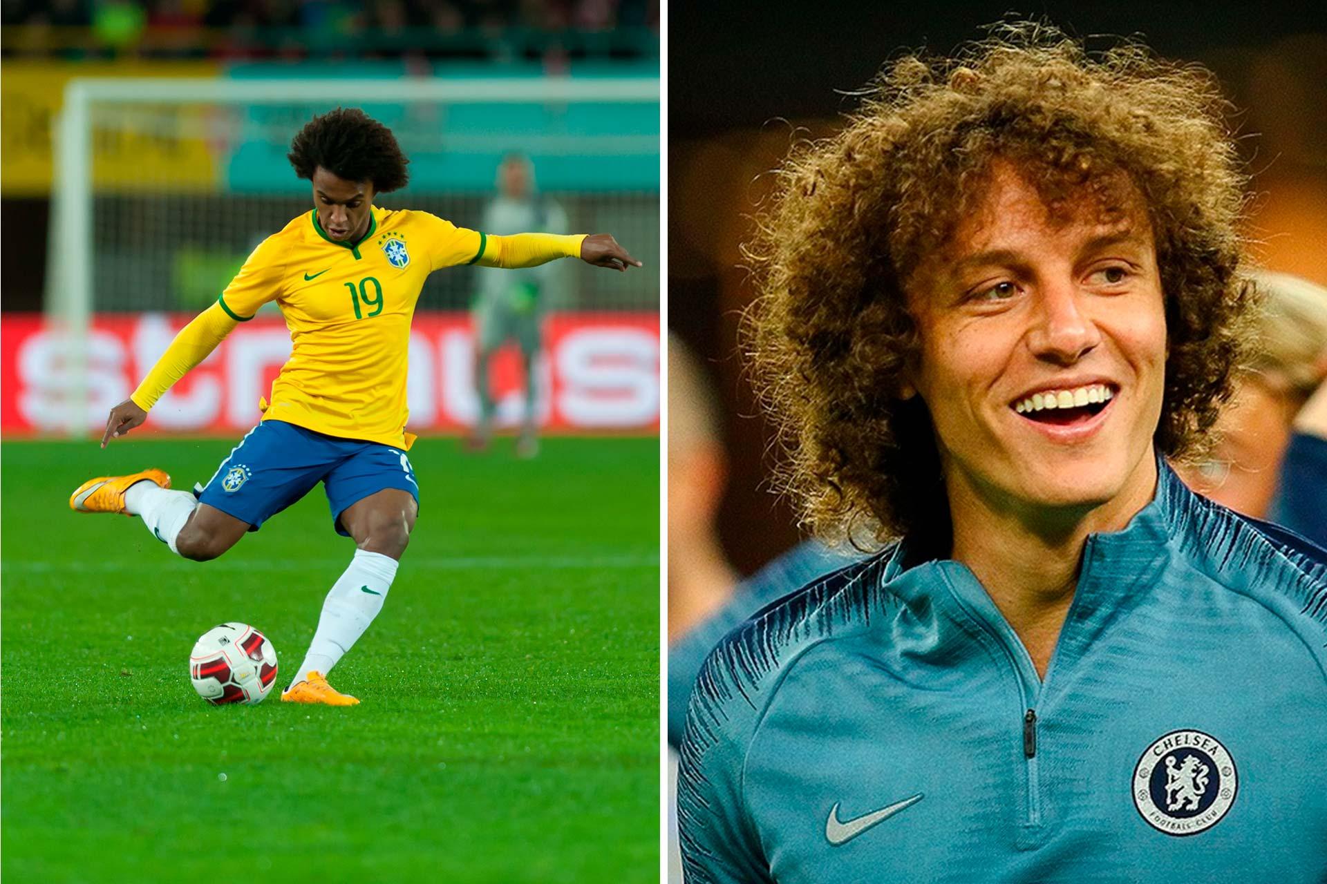 William Borges and David Luiz