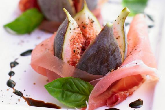 Parma Ham with Figs